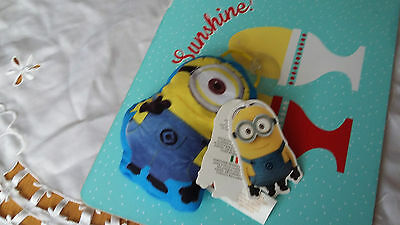 Despicable Me 2 Toy Window Stick On  Bnwts