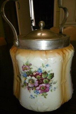 Biscuit  Barrel Bridgwood England 824  2