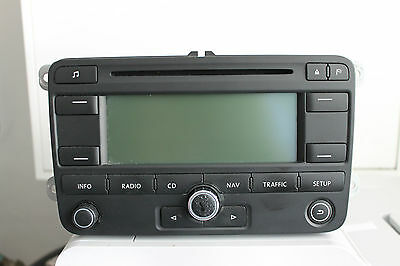VW Passat 3C Golf 5 1K Caddy Touran Navi Navigation RNS 300