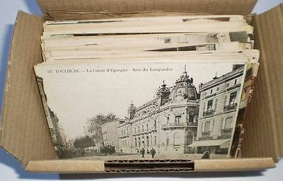 FRANCE - Lot de 50 VERITABLES Cartes postales Anciennes - Avant 1930