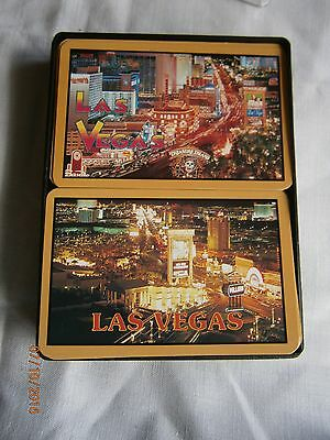 Two 2 Packs of Playing Cards from Las Vegas Casino 1990's Boxed and Unused