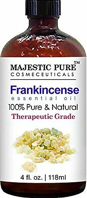 Majestic Pure Frankincense Essential Oil, Therapeutic Grade, 4 fl. Oz