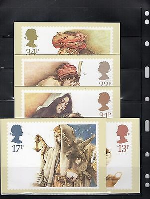 1984 Christmas Mint Phq Set From Collection P19