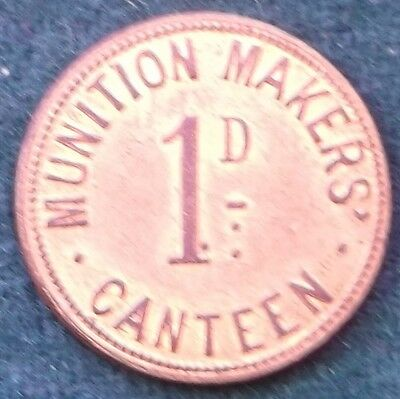 Military Token Munition Makers Canteen  Number 226