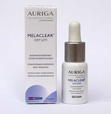 Auriga MelaClear Depigmented Serum Prevention of Recurrence of Spots 15ml