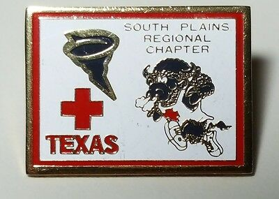 South Plains Regional Chapter of the American Red Cross, a 1986 pinback