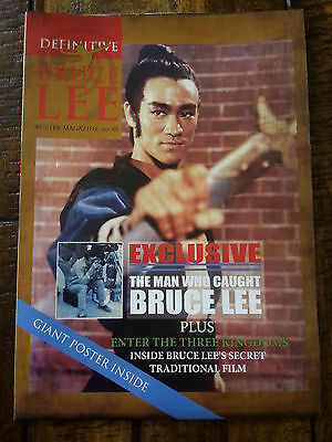 Bruce Lee Definitive Poster Mag - 8 Page Pullout Mag Plus Giant Poster