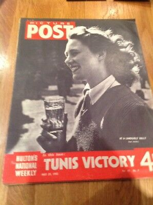 Picture Post Magazine - May 29th 1943 - Land girls Rally