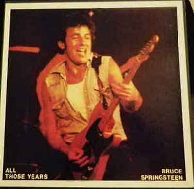 Bruce Springsteen - All Those Years - Box    - 10  Lp