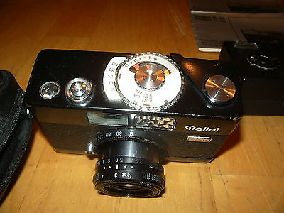Rollei B35 Compact Film Camera with 40 mm lens Kit