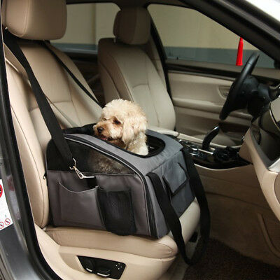 Petcomer Pet Carrier Dog Cat Car Booster Seat Soft Crate Cage Travel Bag L Size