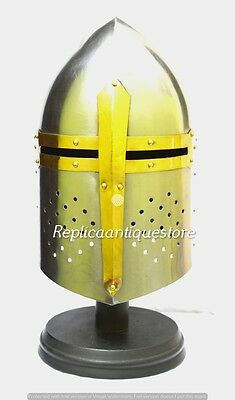 Suger Loaf Medieval Armour Helmet-Roman Knight warrior Helmets-Reproduction