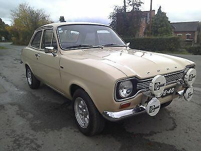 1974 Ford Escort mk1 1300l. Immaculate condition inside and out. Ideal show car.