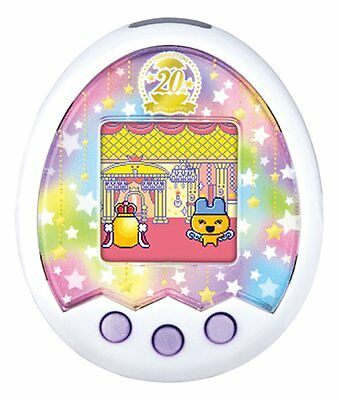 #WithTrack Tamagotchi m! X 20th Anniversary miX ver. ROYAL WHITE Japan