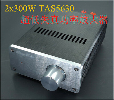 Finished HIFI SA1 TAS5630 stereo amplifier class D amp 300W*2 + AD872 preamp