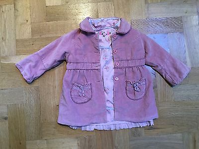 Girls / Toddler Monsoon Outfit / Dress & Coat Age 2-3 Years