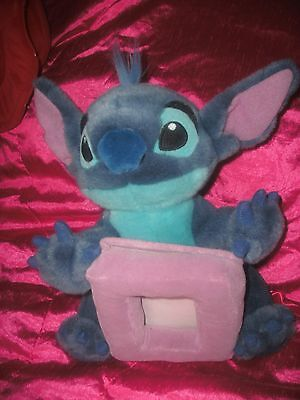 "Disney Lilo And Stitch Plush Soft Toy Photo Picture Frame 12""1"