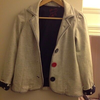Next girl's grey jacket age 11 years