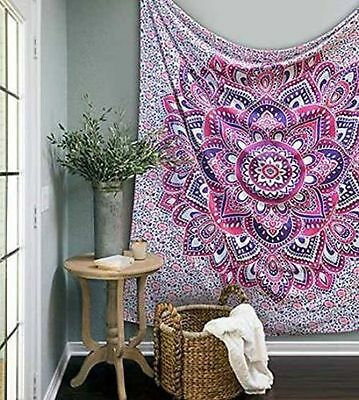 Indian Hippie Bedspread Dorm Tapestries Mandala Throw Tapestry Wall Hanging Art