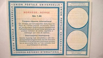 Norway - International Reply Coupon