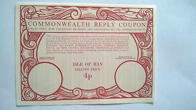 Isle of Man - Commonwealth Reply Coupon