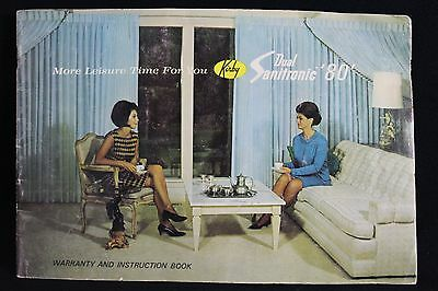 Vtg Instruction Manual Book for Kirby Vacuum cleaner Dual Sanitronic 80' booklet