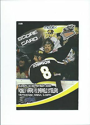 06/07 Newcastle Vipers v Sheffield Steelers Sept 10th