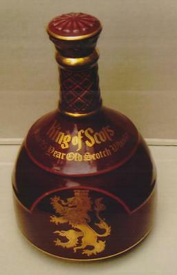KING OF SCOTS WHISKY DECANTER (EMPTY) by SPODE