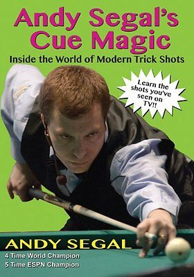 Andy Segal's Cue Magic: Inside the World of Modern Trick Shots Book