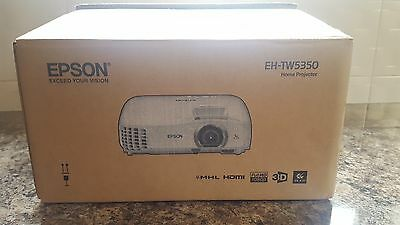 Brand New Epson EH TW5350 Full HD Home Cinema Projector 35000:1 2200 Lumens