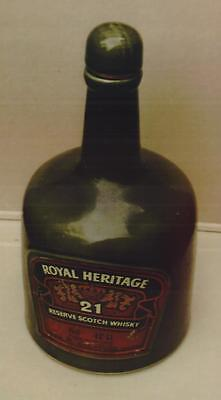 Royal Heritage Whisky Decanter (Empty)