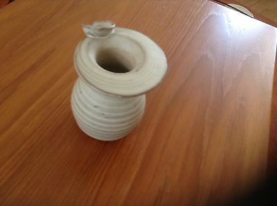 Small Pottery Vase Hassall Dunbar, Made In Scotland, VGC, Christmas Gift