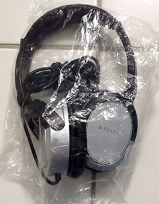 Delta Airlines Business Elite/First Class Noise Canceling Headphones 2016