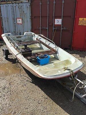 11ft Dell Quay Dory with trailer and engine ***Project***