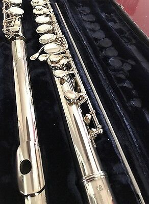 Gemeinhardt Professional Solid Silver Alto Flute - Beautiful Condition (#A2491)