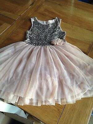 Next girls party dress aged 6 years
