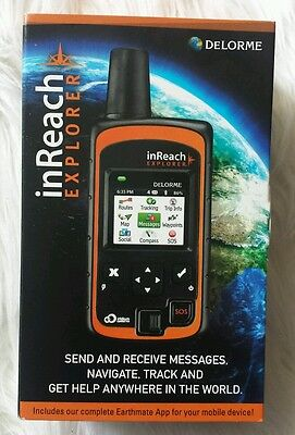 DeLorme inReach Explorer ➤ Satellite Communicator with built-in navigation
