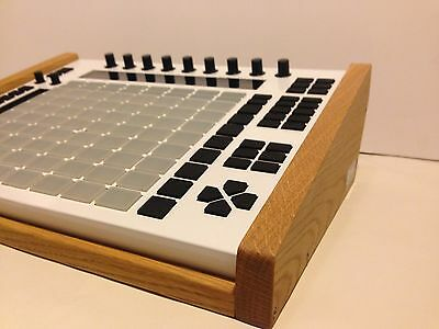 Ableton Push Wooden Stand Sides Wood Panels Cheeks Pro Custom Seitenteil Holz