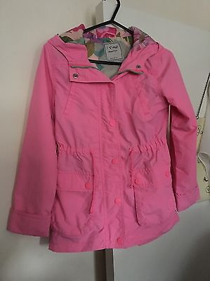 Girls Pink Coat 9-10 Years Old Next