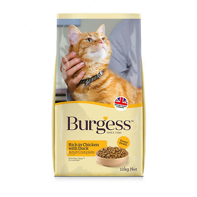 Burgess Rich In British Chicken And Duck Adult Cat Food 1.5kg