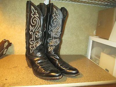 Men's Western Cowboy Boots By Justin-Size 8.5D