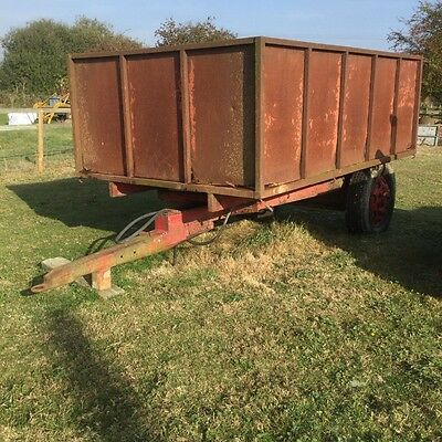 """Tipping Trailer - 6'7"""" x 10'2"""""""