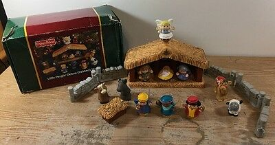 Fisher Price Little People Nativity Set Deluxe Christmas Story, Lights & Music