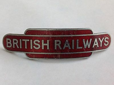 British Railways Midland Region Totem Cap Badge by Pinches