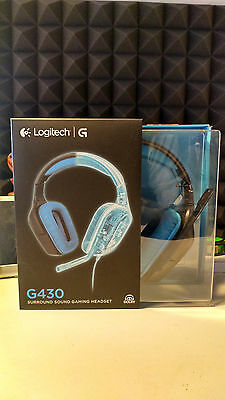 logitech g430 cuffie gaming pc,os3,ps4,xbox one,xbox360