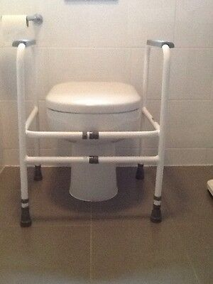 Toilet Frame - Height and Width Adjustable. Brand New