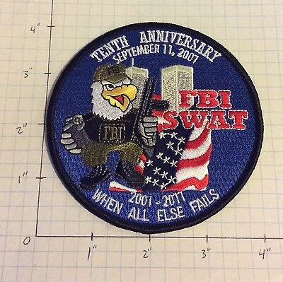 """FBI SWAT 9-11 Tenth Anniversary """"When All Else Fails"""" *Mean Streets*"""