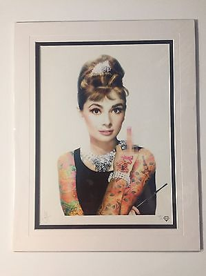 "JJ Adams ""Audery Hepburn"" Ed 195 SIGNED Mint, New, mounted"