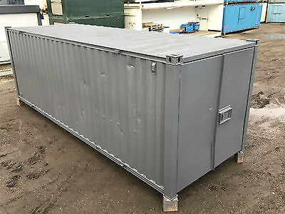 24ft x 8ft - Shipping | Storage Container | Steel Store | High Security Lock Box