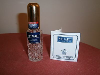 Stuart Crystal Handbag Atomiser. New. Boxed.